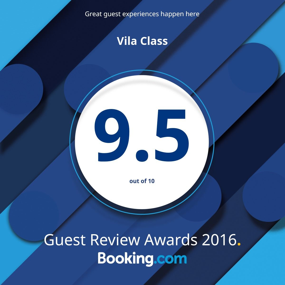 booking award 2